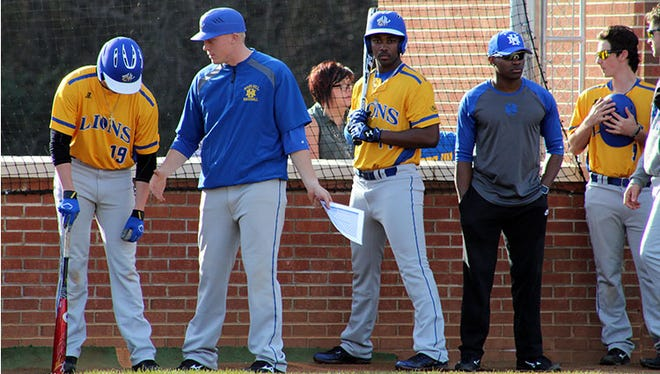 Erwin graduate Hunter Bryant is an assistant coach for the Mars Hill baseball team.