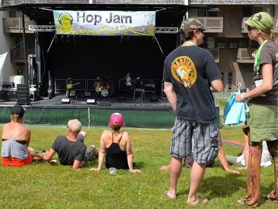 Hop Jam 2014 in Bolton on Aug. 30. This year's beer-and-music