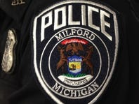 Milford police locate car in ditch, locate driver walking, arrest him for drunken driving