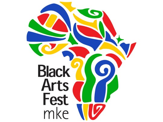 color logo of Black Arts Fest MKE