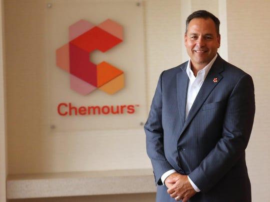 Chemours CEO Mark Vergnano.