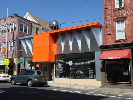 The new facade of 142 Main St. in Nyack Oct. 4, 2017.