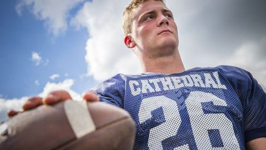 Cathedral linebacker Pete Werner has reopened his recruitment from Notre Dame.