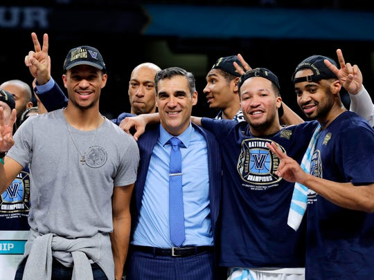 Villanova head coach Jay Wright must reload after losing four players to the NBA draft.