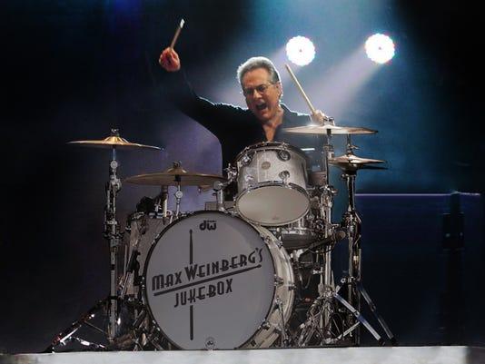e street band drummer among beach concert attractions