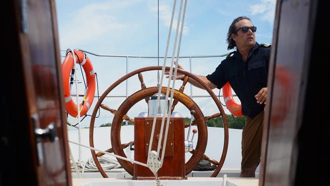 Andrew Sadock, owner of sailboat Jakab, hopes to make the sailing experience accessible to everyone.