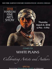 The Harlem Fine Arts Show (HFAS), featuring collections