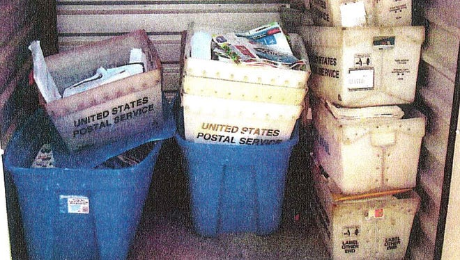Thousands of pieces of mail were discovered in a storage unit and home last year in the western Kentucky city of Dawson Springs.