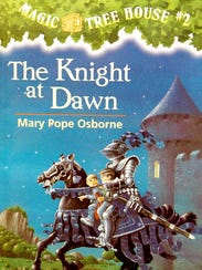 """""""The Knight at Dawn,"""" a Magic Tree House book by Mary"""