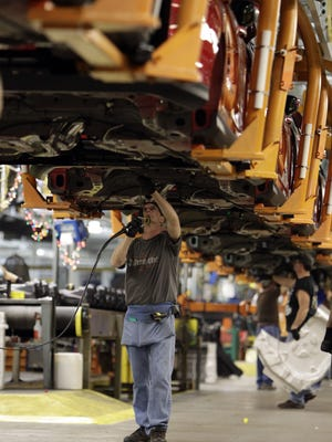 Manufacturing has been sluggish but economic reports showed it picking up recently. The Federal Reserve released its beige book, an anecdotal summary of economic conditions, on Wednesday.
