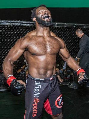 Muhammed De'Reese is a Titusville High graduate who has proven tought to beat as a mixed martial artist.