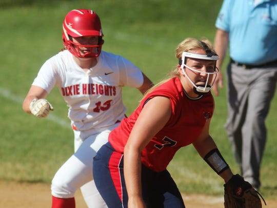 Dixie Heights senior Kaylee McGinn is the top returning player in the Ninth Region