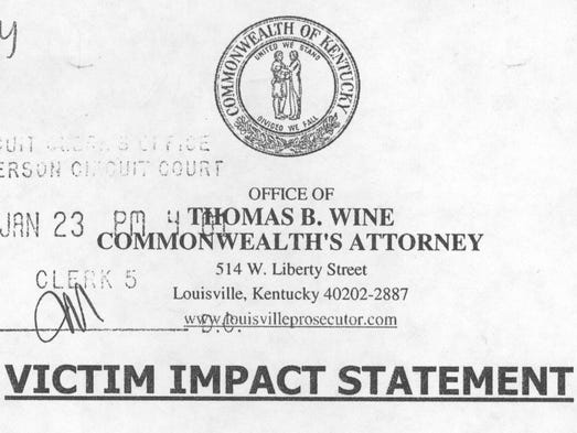 how to write a victim impact statement