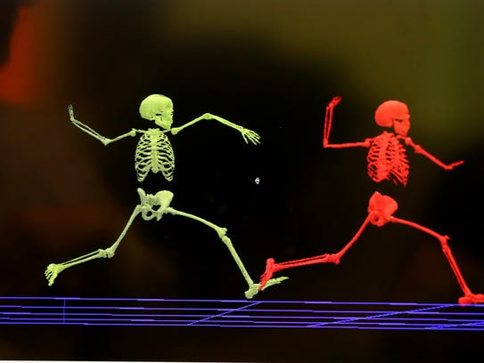 Biomechanics testing shows variations in form when