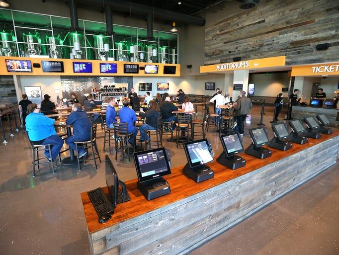 A Look Inside Flix Brewhouse In Carmel