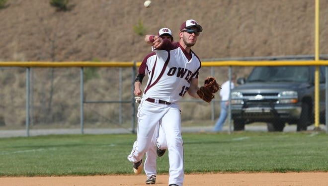 Brady Parker is one of the top players for the Owen baseball team.