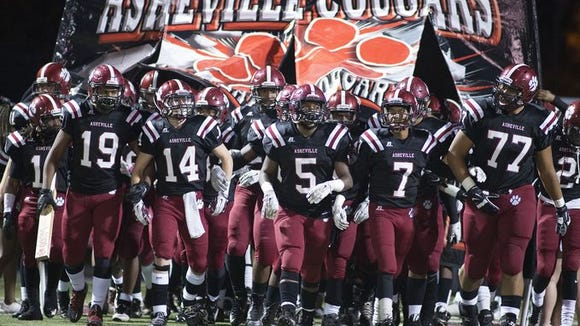 Asheville High will have two TV games next football season on WMYA-40.