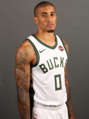 Guard Gary Payton II played for the Bucks late last season but will be battling five veteran players for the final roster spot during camp.