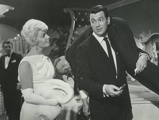 "In ""Pillow Talk"" (1959), a night ends for Jan (Doris"