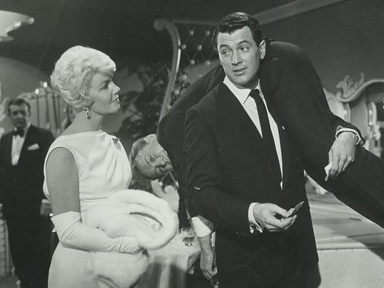 "In ""Pillow Talk"" (1959), a night ends for Jan (Doris"