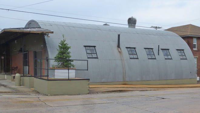 The former Mrs. Smith's Pie bakery was in the Quonset hut at South Pine Street and Rockdale Avenue.