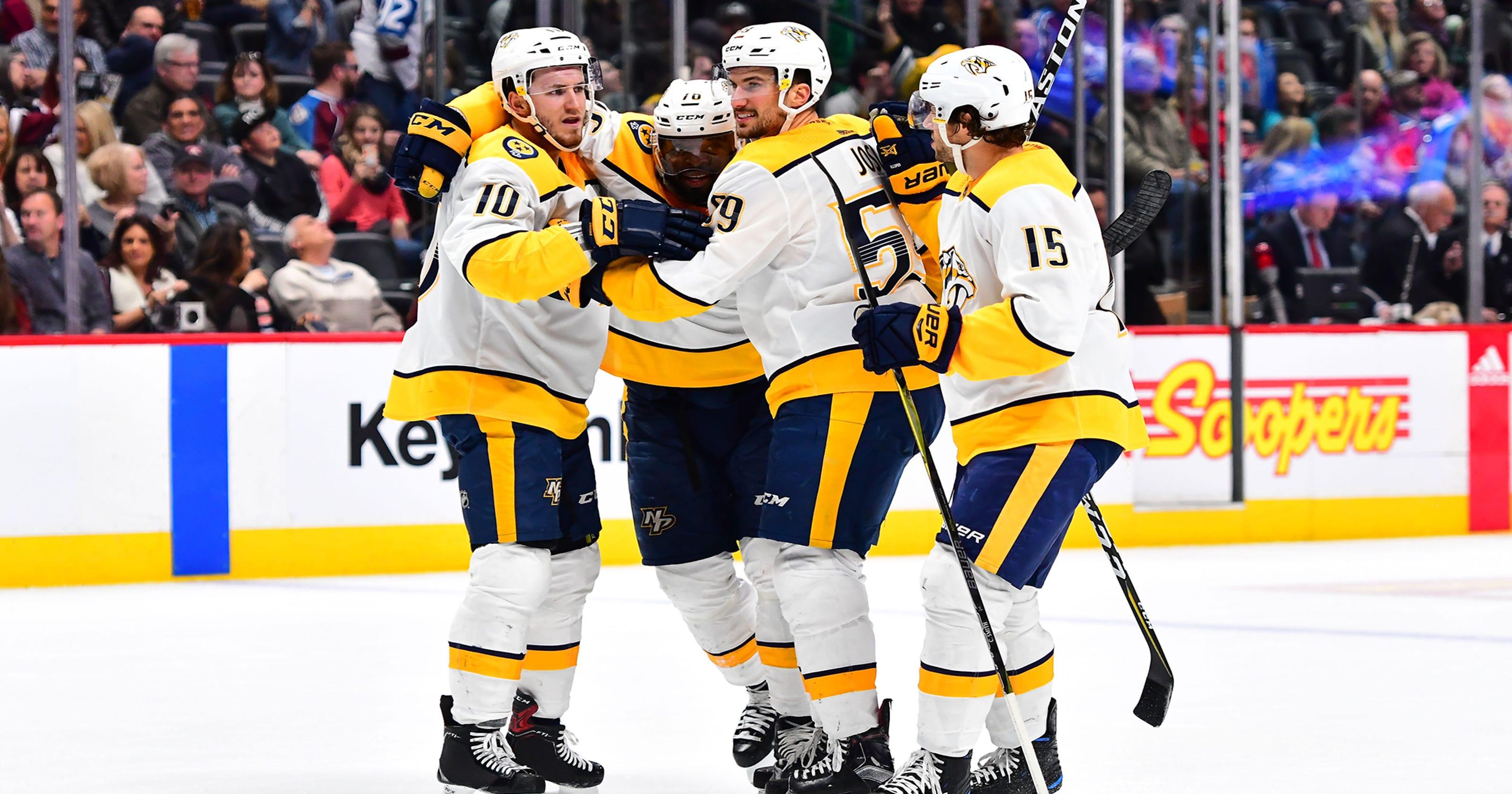 NHL Stanley Cup playoffs  Nashville Predators keep winning 1454ff4cc