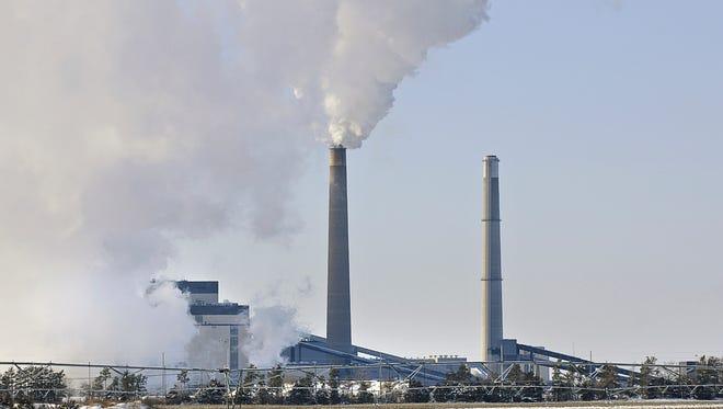 The Sherco power plant in Becker, Minnesota.
