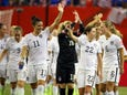 Jun 26, 2015; Ottawa, Ontario, CAN; United States forward Abby Wambach (20) reacts after defeating China in the quarterfinals of the FIFA 2015 Women's World Cup at Lansdowne Stadium. United States won 1-0. Mandatory Credit: Marc DesRosiers-USA TODAY Sports ORG XMIT: USATSI-227782 ORIG FILE ID:  20150626_ajw_ad6_164.jpg