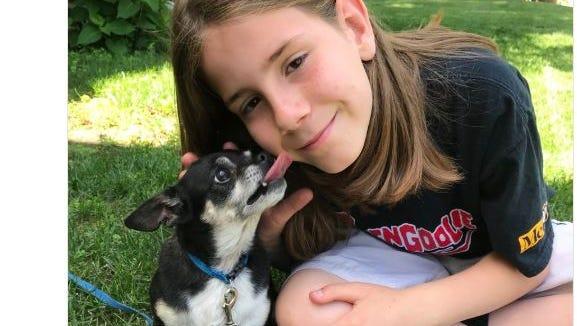 Gideon Kidd, 9, of Cedar Falls, pets precious dogs and posts them on Twitter @Ivepetthatdog.