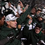 Michigan State president: Don't think too much of criticism of Mark Dantonio