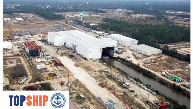 Rendering of Topship at Port of Gulfport
