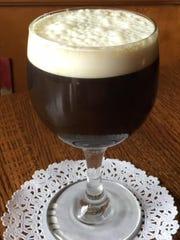 Powers Irish Whiskey, brown sugar and fresh cream served
