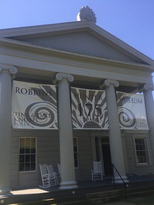 Robbins Hunter MuseumAnniv