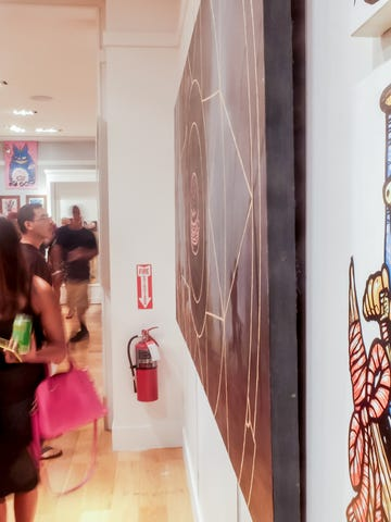 Over 30 artists are featured at the Guam Art Exhibit.