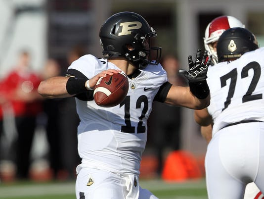 NCAA Football: Purdue at Indiana