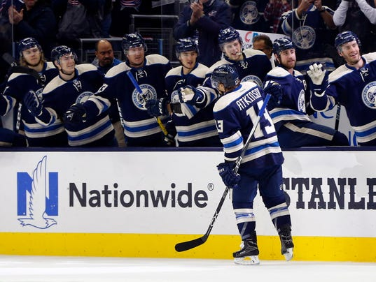 Blue Jackets now 1 victory away from NHL consecutive wins record