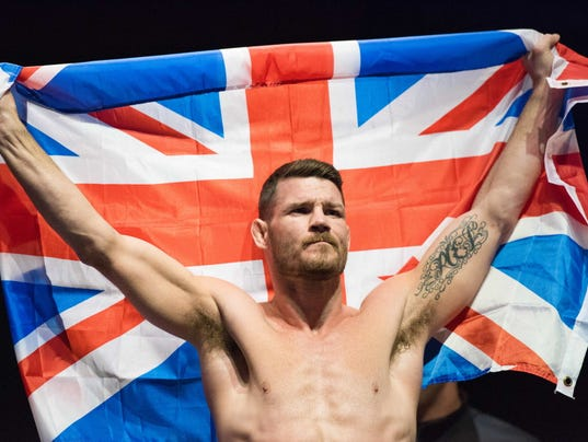 USP MMA: UFC FIGHT NIGHT-SILVA VS BISPING-WEIGH IN S OTH GBR