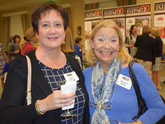 Faye Potts and MaryAnn Miskel