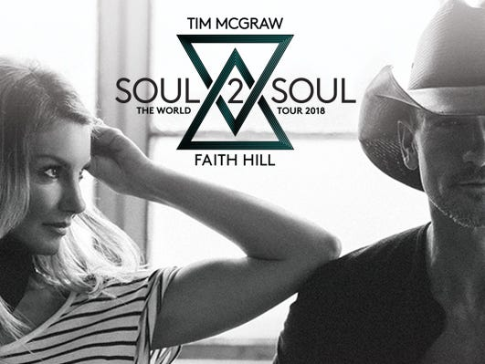 See Tim and Faith in Lexington June 2. Enter to win a pair of tickets plus $100 to fill your gas tank. 5/1-5/20