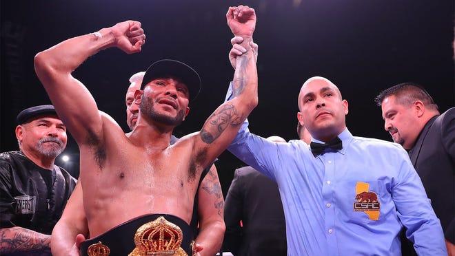 Andrew Cancio, who trains in Ventura, will fight Rene Alvarado in Indio on Saturday night.