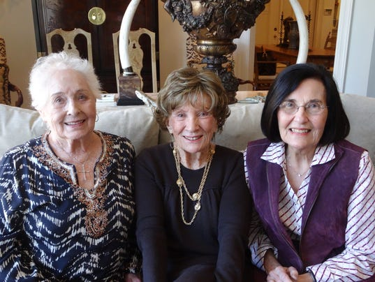Pat Blanchard, Judy Worthen, and LaVerne Bodron