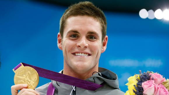 Olympic gold medalist David Boudia is a five-time USA