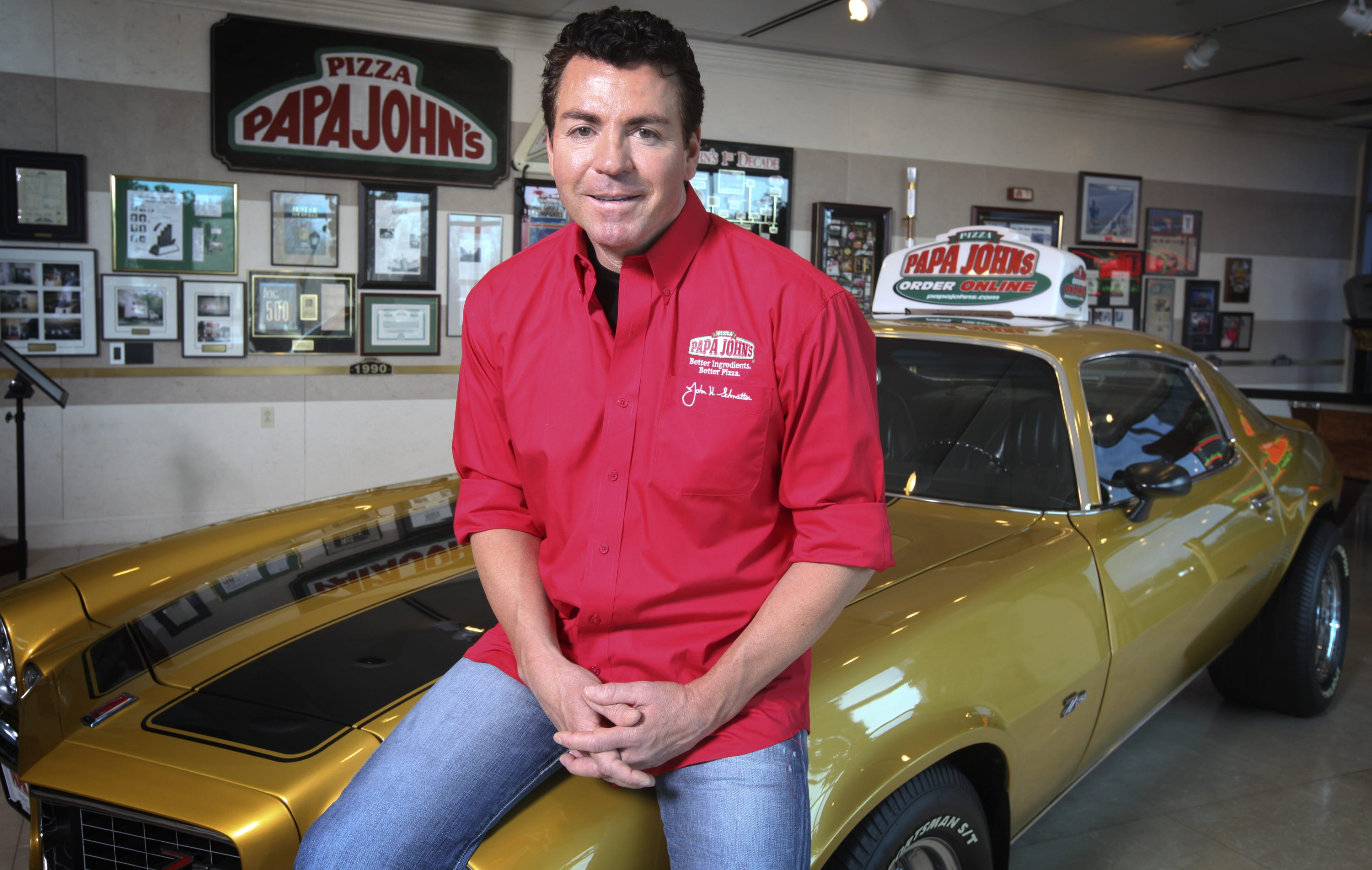 papa john s founder how much is he worth rh courier journal com