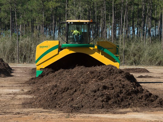 The Emerald Coast Utilities Authority has begun composting