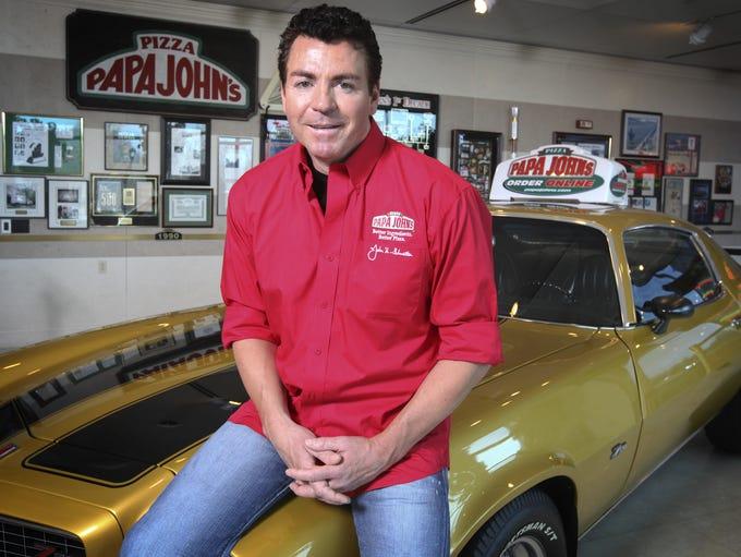 Papa John's founder John Schnatter. December 19, 2012