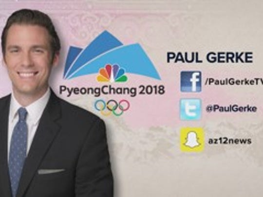 12 Today anchor Paul Gerke is covering the Winter Olympics