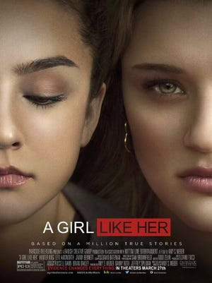 "Movie poster for ""A Girl Like Her."""