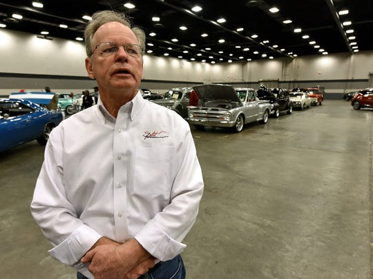 Bill Bissell with the Mississippi Automotive Manufactures Association will host the Mississippi Racing Vehicle Extravaganza Saturday and Sunday at the Mississippi Trade Mart.