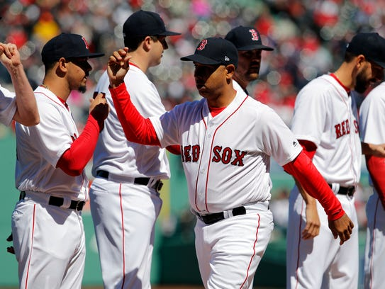New manager Alex Cora is replacing John Farrell, who