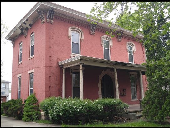 This Italianate home at 812 N. Seventh St. in Lafayette